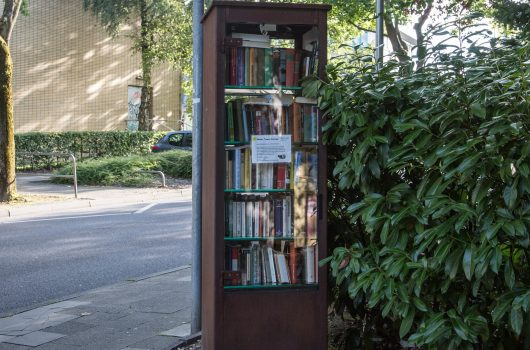 Marktplatz weiter aufwerten: Bücherschrank für Brand beantragt